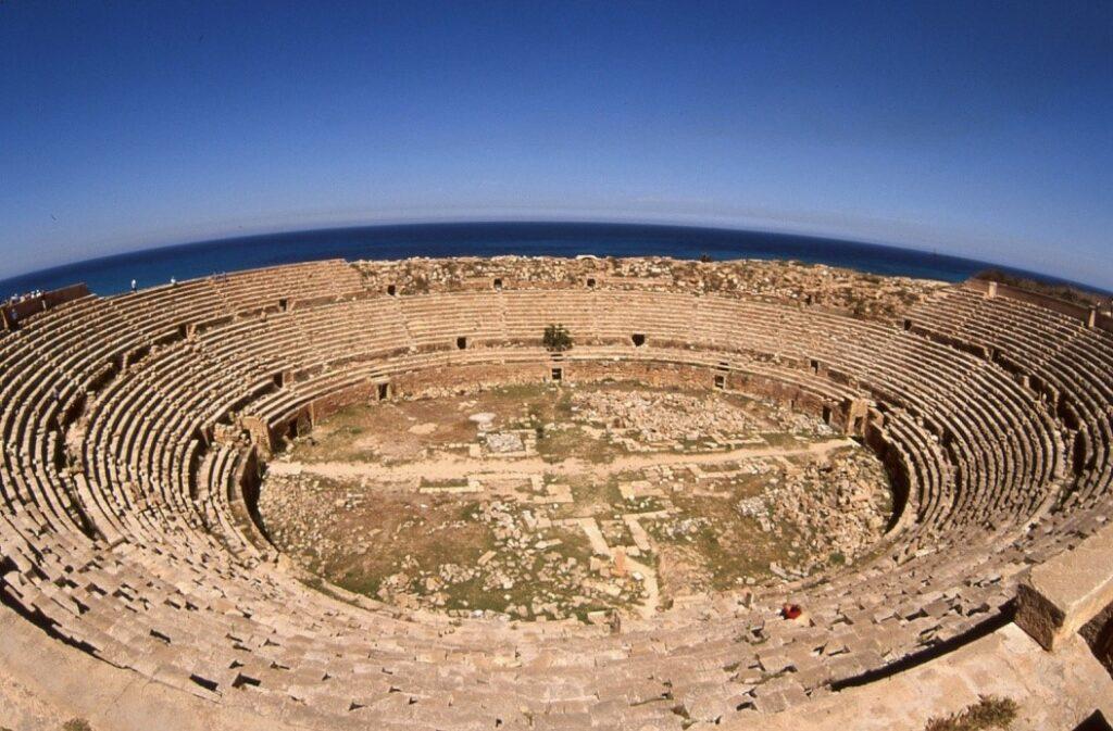 Anfiteatro, Leptis Magna