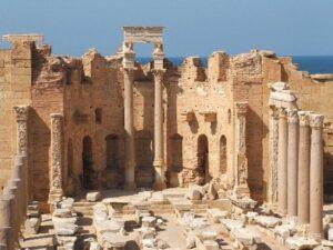 Basilica severiana, abside.