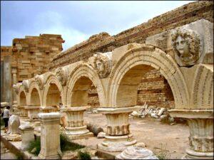 Foro severiano, Leptis Magna