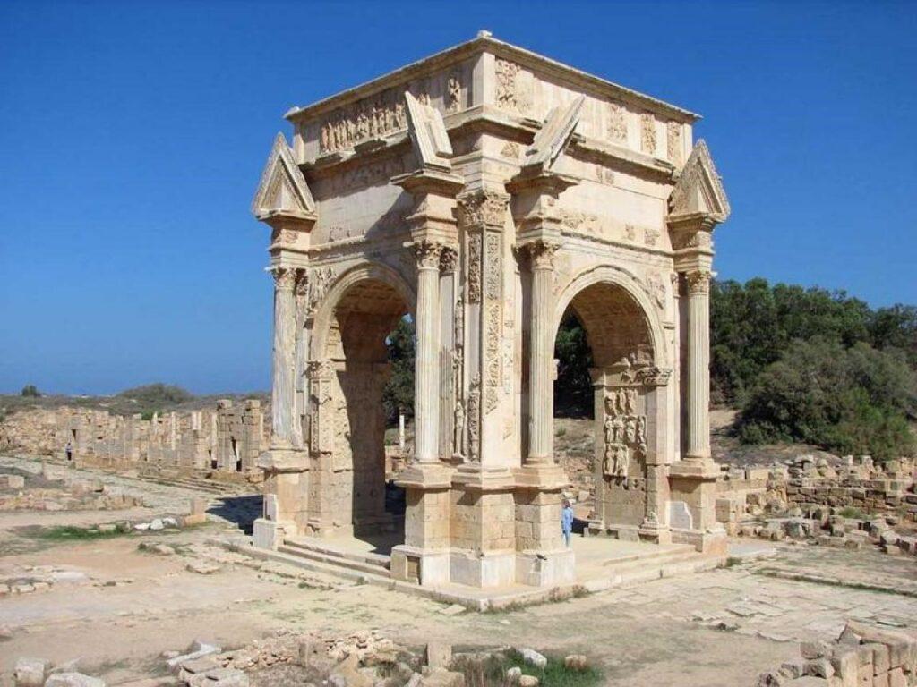 Arco dei Severi, Leptis Magna