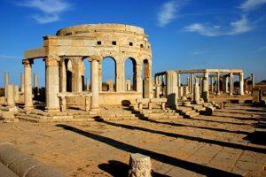 Leptis Magna - Mercato