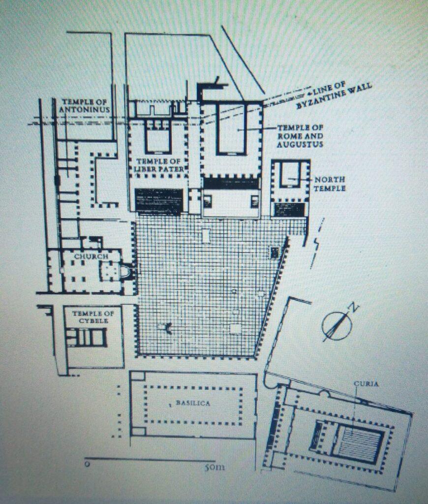 Foro, Leptis Magna