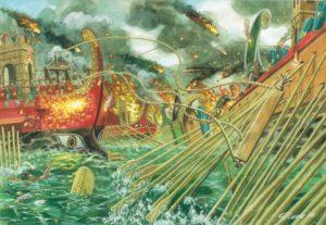 La battaglia di Azio