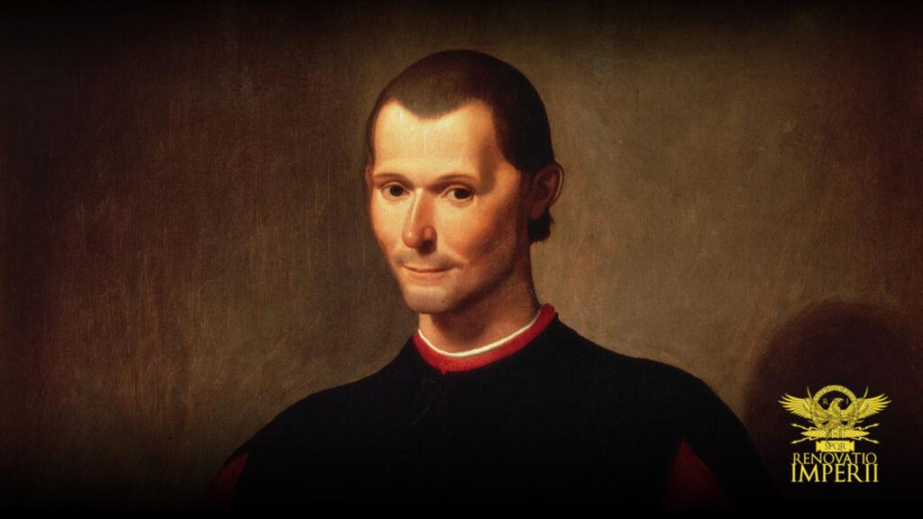 Machiavelli's morality - Copertina