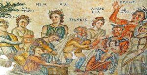 Mosaico Paphos - Art. Vino
