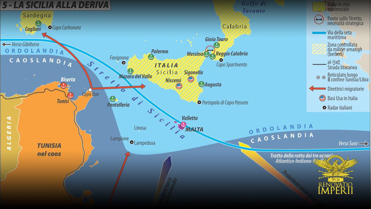 Il rinascimento d'Italia passa per il Mediterraneo