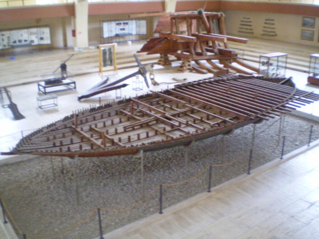 Navi di Nemi - Nave tempio