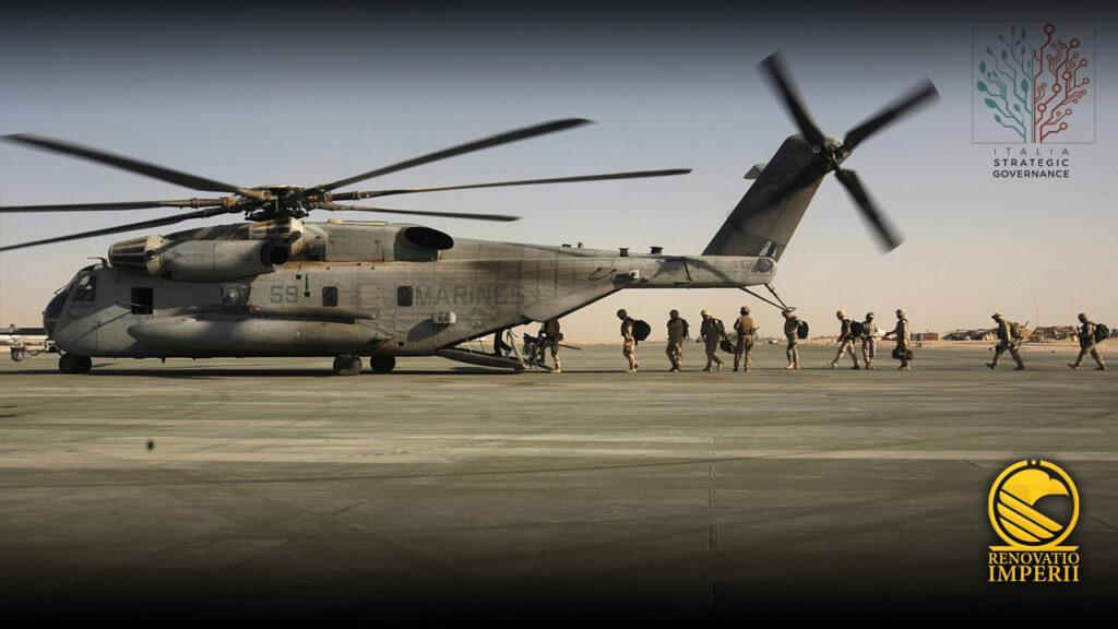 U.S. soldiers leaving Afghanistan