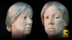 """La """"Signora di Pioltello"""": come arte e scienza hanno riportato in vita una donna romana di 1800 anni fa"""